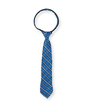 Statements Boys' Blue Plaid Zip Tie