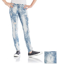 Wallflower Vintage Juniors' Powder Tint Skinny Jeans