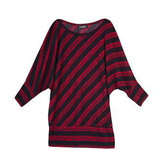 A. Byer Juniors' Stripe Dolman