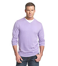 Kenneth Roberts Platinum® Men's Silk & Cotton V-Neck Sweater