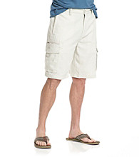 Paradise Collection® Men's Linen & Cotton Cargo Short
