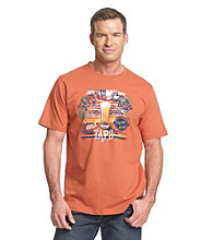 Paradise Collection® Men's Georgia Clay Screen Print Tee