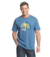 Paradise Collection® Men's Total Teal Screen Print Tee