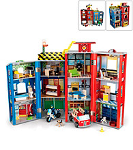 KidKraft Everyday Heros Police and Fire Set