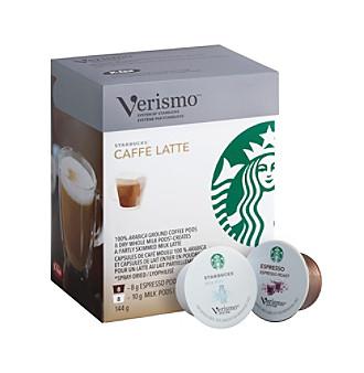 Starbucks® Verismo® Caffé Latte 2-Step 16-pk. Espresso & Milk Pods