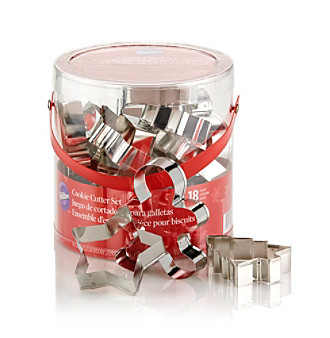 Wilton Bakeware 18-pc. Holiday Cookie Cutter Set