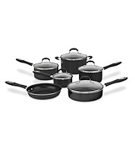 Cuisinart® Advantage Black Nonstick 11-pc. Cookware Set + FREE Grill Pan
