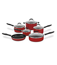 Cuisinart® Advantage Red Nonstick 11-pc. Cookware Set + FREE Grill Pan