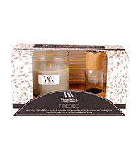 WoodWick® Fireside Candle & Diffuser Gift Set