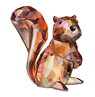 Swarovski® Crystal Copper Squirrel