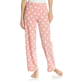 Dearfoams Microfleece Lounge Pants