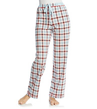 Cuddl Duds® Sleep Purrfect Day Knit Pants - Blue Plaid