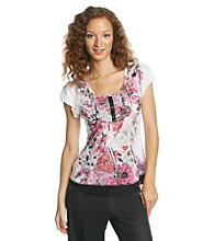 Oneworld® Time Change Top - White