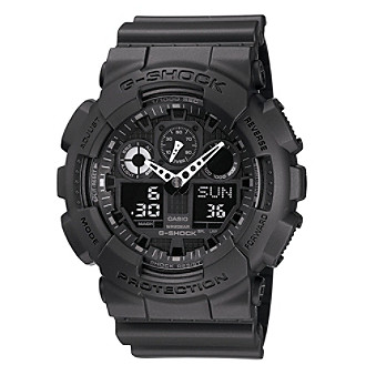 G-Shock Extra Large Ana-Digi with Black Matte Resin Band and Black Dial