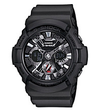 G-Shock Extra Large Ana-Digi with Matte Black Band and Black and Chrome Dial