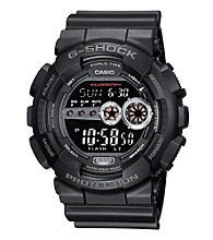 G-Shock Extra Large Digital with Matte Black Resin Band and Black Dial