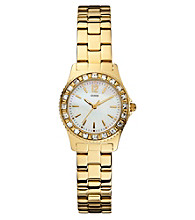 Guess Gold Petite Sport and Sparkle Watch