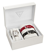 Guess Silver Petite Sport and Sparkle Interchangeable Set