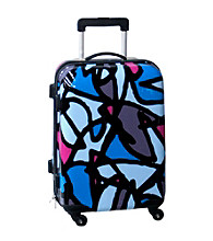 Ed Heck Scribbles Blue Luggage Collection
