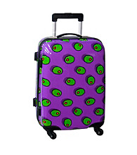Ed Heck Olives Purple Luggage Collection