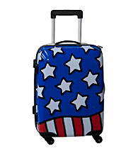 Ed Heck Stars N' Stripes Red, White and Blue Luggage Collection
