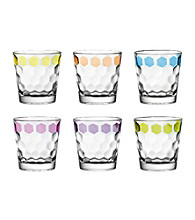 Ego Antibes Set of 6 Double Old Fashion Tumblers