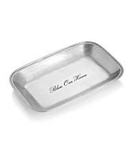 Towle® Antique Silver Sentiment Tray