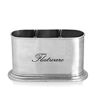Towle® Antique Silver Sentiment Flatware Caddy