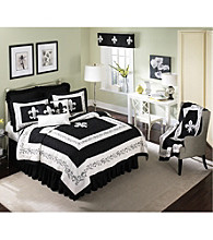 Fleur de Lis Scrolls and White Quilt Collection by Donna Sharp®