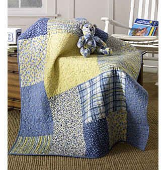 Heather Patch Baby Quilt Set by Donna Sharp®