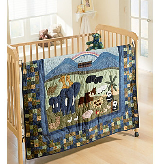 noah s ark baby bedding quilt collection by donna sharp