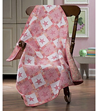 Pink Star Baby Quilt by Donna Sharp®