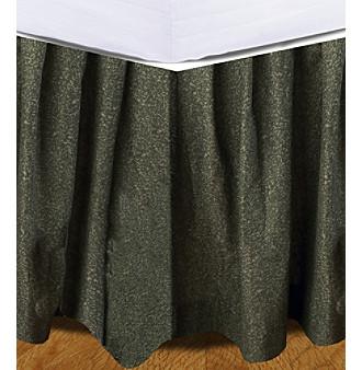 Upc 754069205400 Donna Sharp Forest Green Bed Skirt Upcitemdb Com