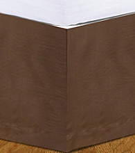 Donna Sharp® Pistachio Brown Bed Skirt