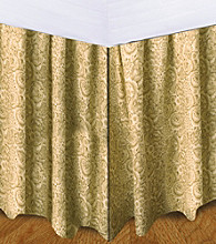 Donna Sharp® Beige Floral Bed Skirt