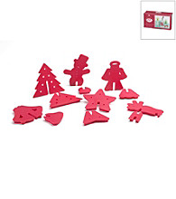 Nordic Ware® 3D Cookie Cutters - Holiday Series