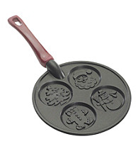 Nordic Ware® 4-Cavity Christmas Morning Pancake Pan
