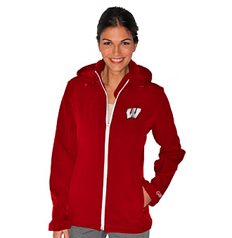 G III Ladies' Red Wiscosin Propel Softshell Jacket