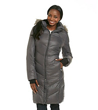 Calvin Klein Performance Premium Faux Fur Down-Blend Coat