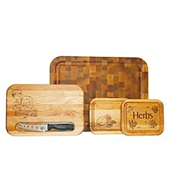 Catskill Craftsmen Cutting Board Gift Set