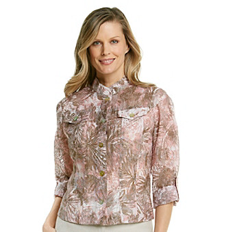 Ruby Rd.® Blush Hour Burnout Top