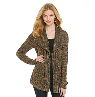 Jones New York Sport® Oversize Drape-Front Cardigan