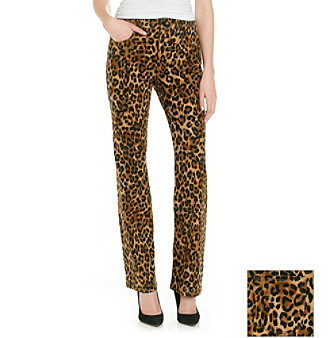 Jones New York Sport® Animal Print Lean Bootcut Pant