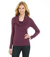 Jeanne Pierre® Baby Cable Cowlneck Sweater