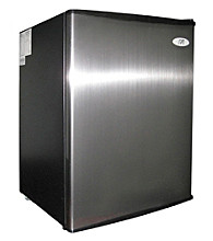 Sunpentown® 2.5-cu.ft. Stainless Steel Compact Refrigerator with Energy Star