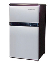 Sunpentown® 3.2-cu.ft. Stainless Steel Double Door Refrigerator