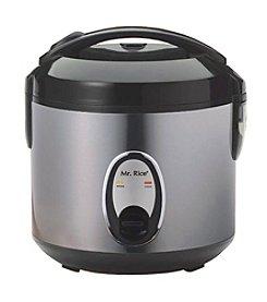 Sunpentown® Medium 6-Cup Stainless Steel Rice Cooker