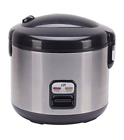 Sunpentown® Small 6-Cup Stainless Steel Rice Cooker
