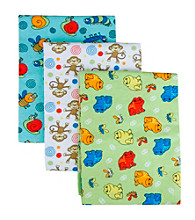 Trend Lab 3-pk. Receiving Blanket Set - Bugs