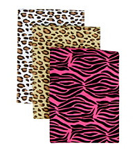Trend Lab 3-pk. Receiving Blanket Set - Animal Print